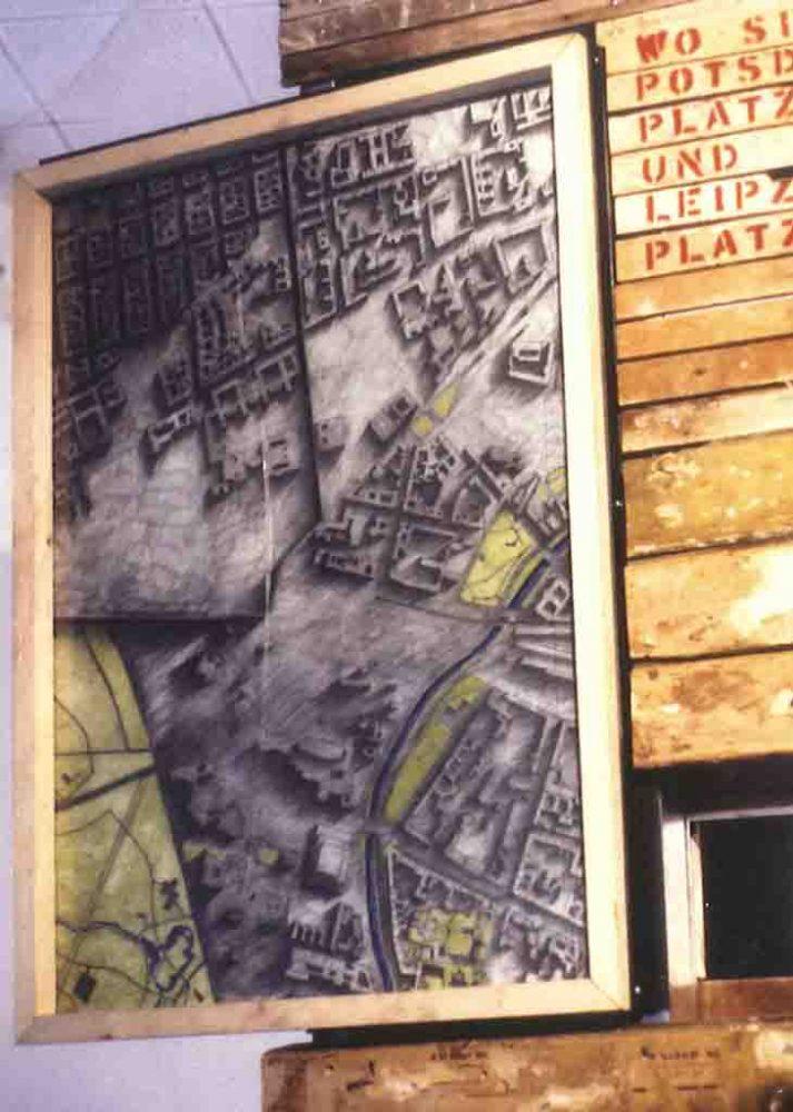 Diane Lafontaine | Potsdamerplatz : empreintes et fragments I